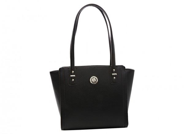 Anne Klein  Front Runner Handbag  For Women - Man Made Black