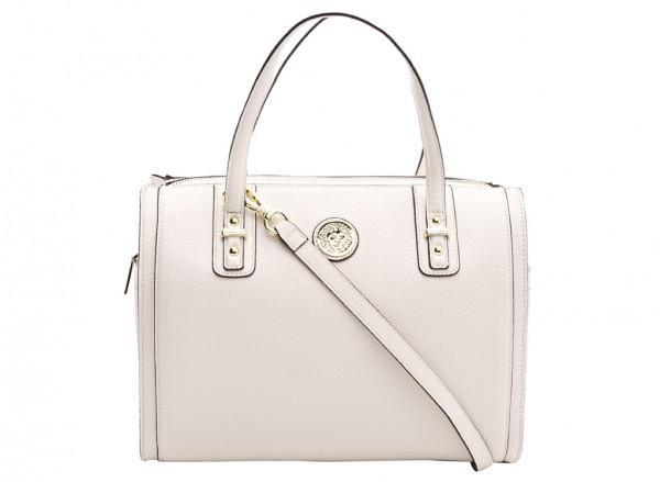 Anne Klein  Front Runner Handbag Duffle Md For Women - Man Made White