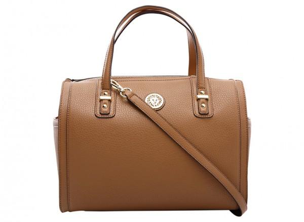 Anne Klein Front Runner Handbag Duffle Md For Women - Man Made Brown
