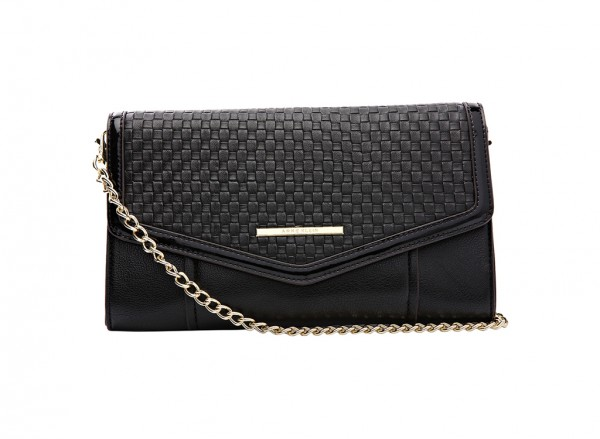 Anne Klein It?S The One Handbag Clutch Md For Women - Man Made Black