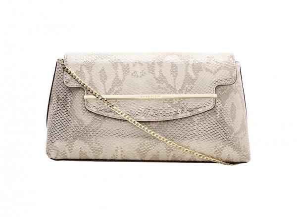 Anne Klein  Style Achiever Handbag Clutch Md For Women - Man Made Metallic Gold