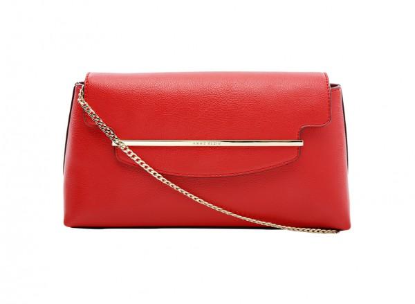 Anne Klein Style Achiever Handbag Clutch Md For Women - Man Made Red