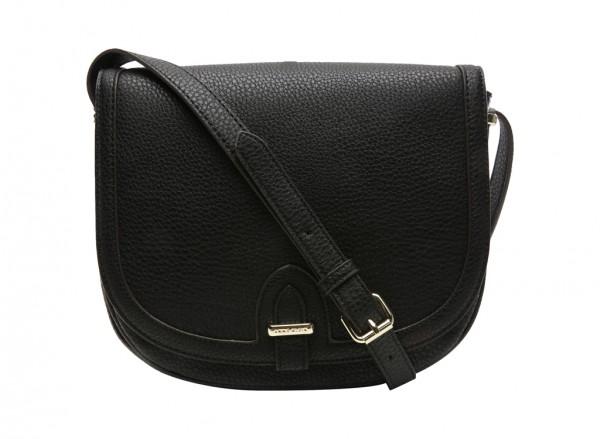 Perfect Tote Black Cross Body Bag