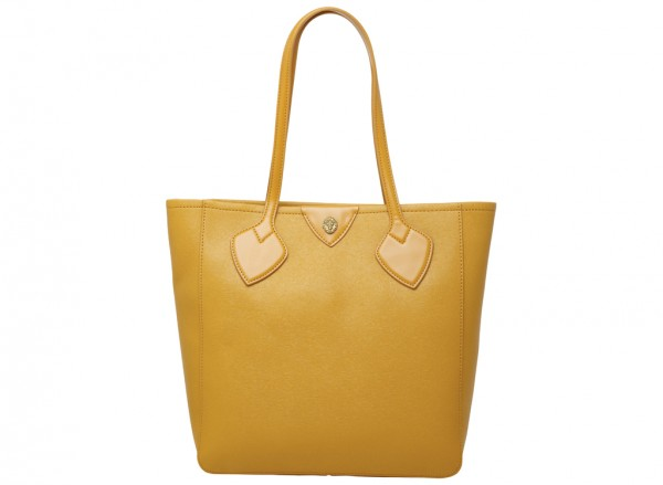 Georgia Yellow Tote Bag