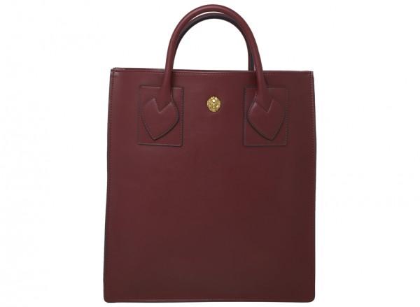 Sandra Shopper Red Shoulder Bags & Totes