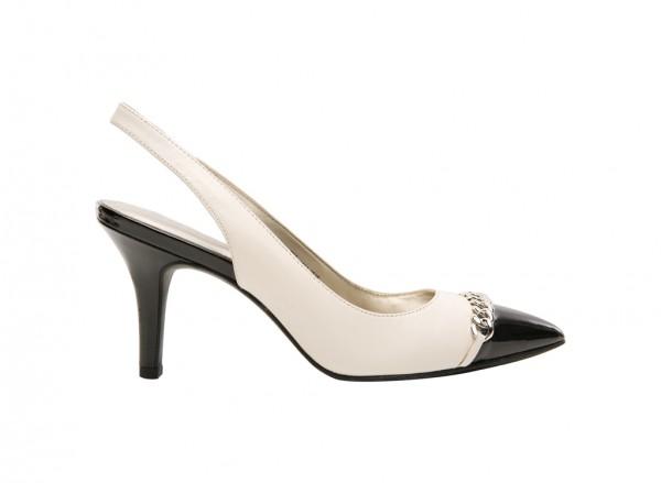 Yavari Ivory High Heel