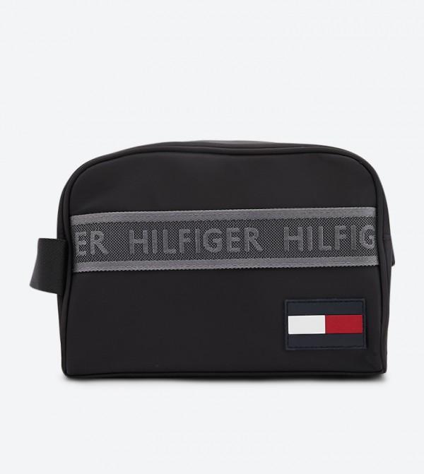 حقيبة رياضية بسحاب للإغلاق لون أسود