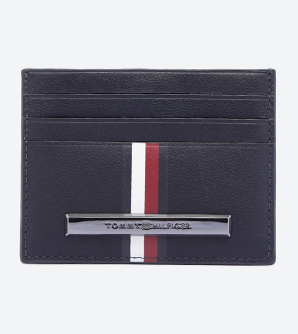 Corporate Stripe Mini Cardholders - Blue