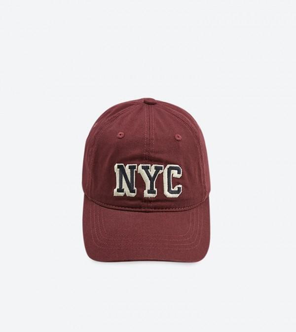 كاب NYC بلون خمري