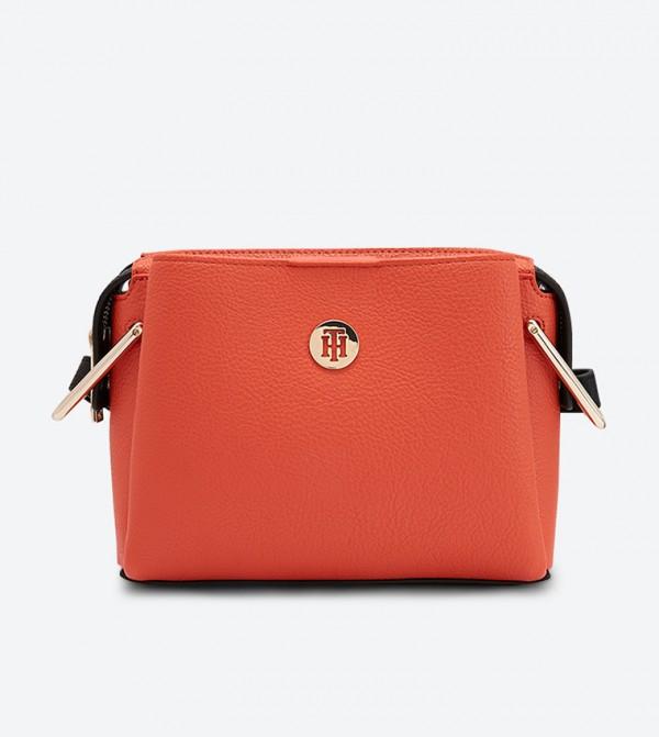حقيبة كروس بودي بلون برتقالي