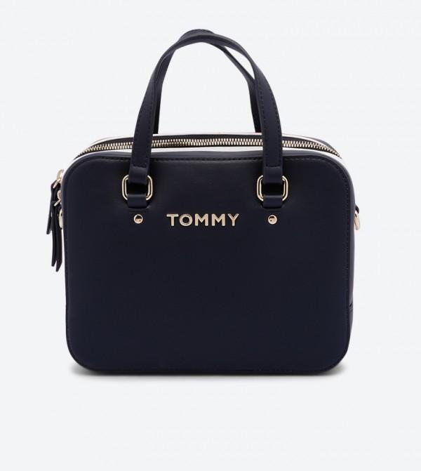 Corporate Mini Trunk Cross Body Bag - Navy