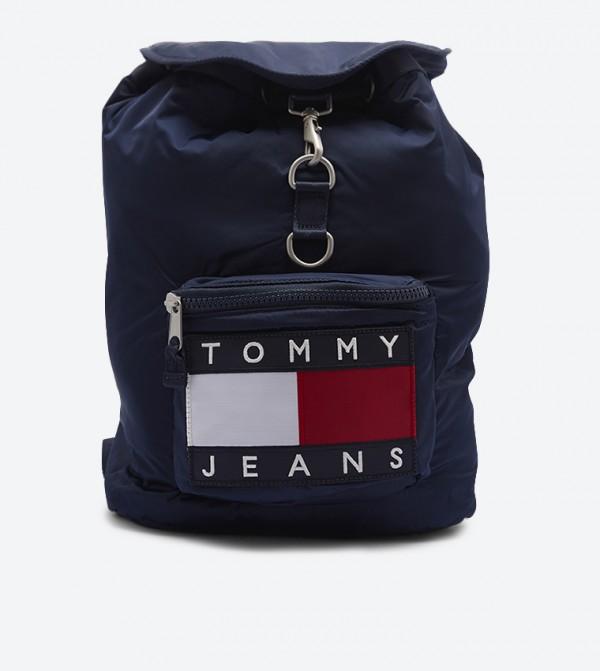 Heritage Double Back Shoulder Strap Backpack - Blue