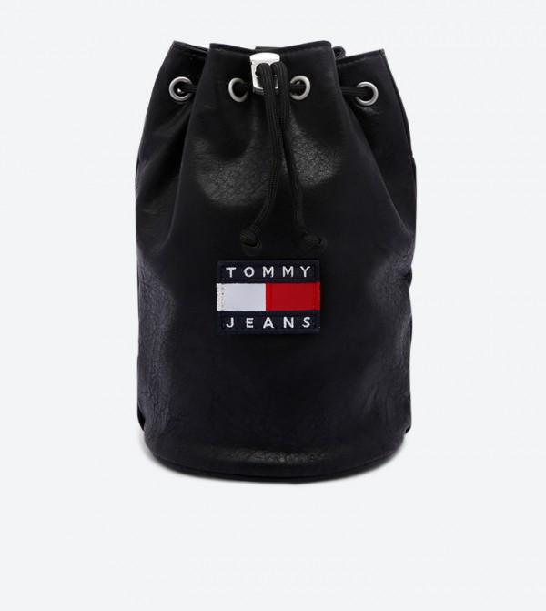 Heritage Small Sling Hobo Cross Body Bag - Black