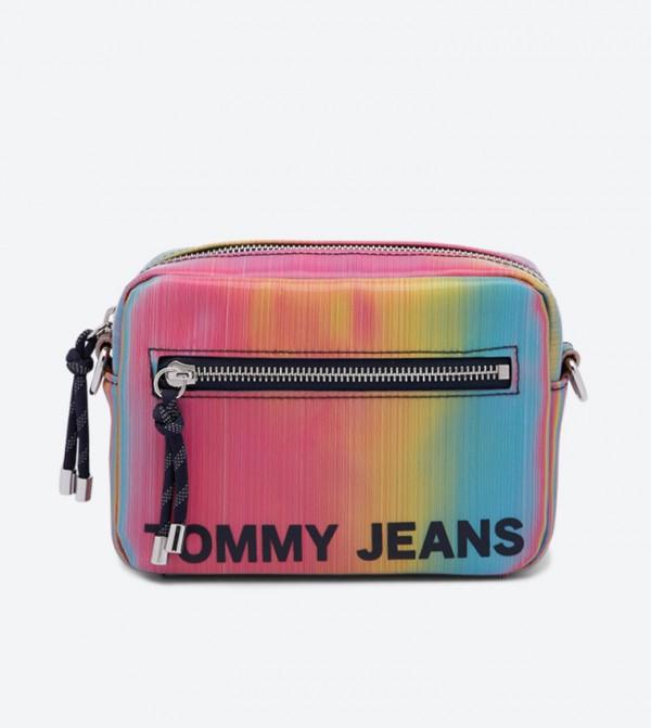Item Rainbow Effect Cross Body Bag - Multi