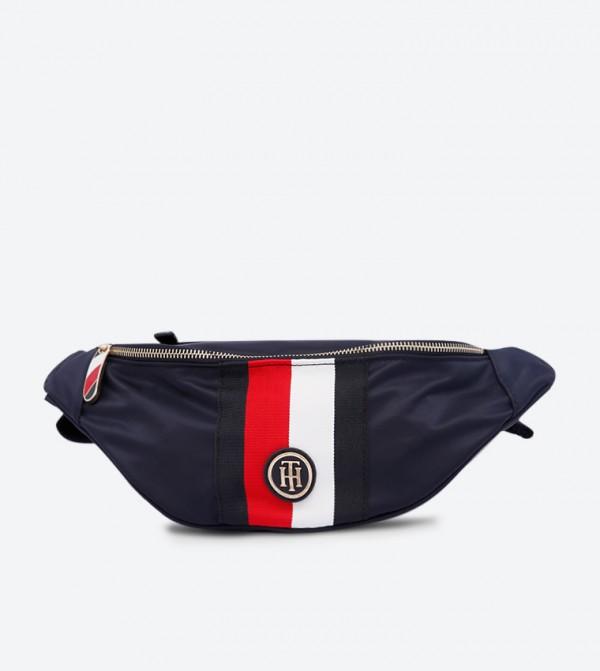 Poppy Bumbag Corp Waist Bag - Navy