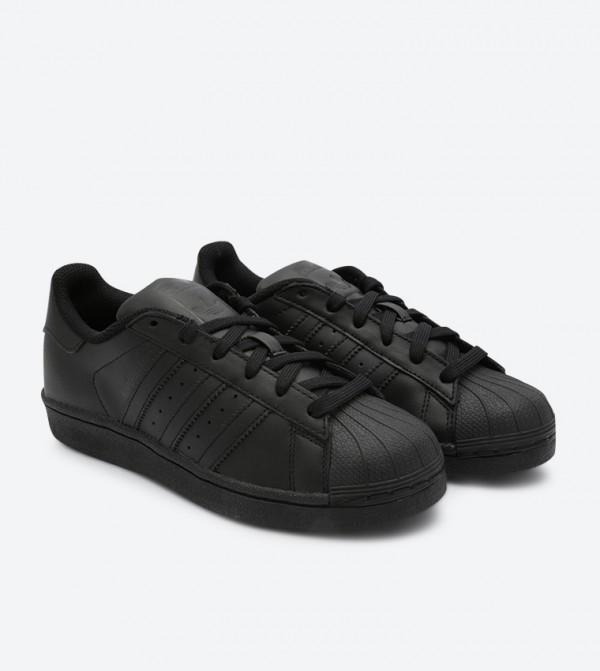 separation shoes 5fba3 3075d Superstar Foundation J Sneakers - Black B25724