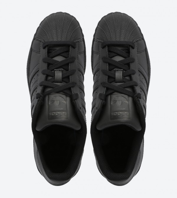 separation shoes 41a01 cfe20 Superstar Foundation J Sneakers - Black B25724
