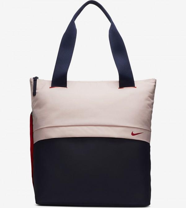 Logo Print Tote Bags - Pink