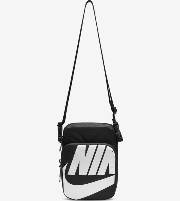 Logo Print Tote Bags - Black