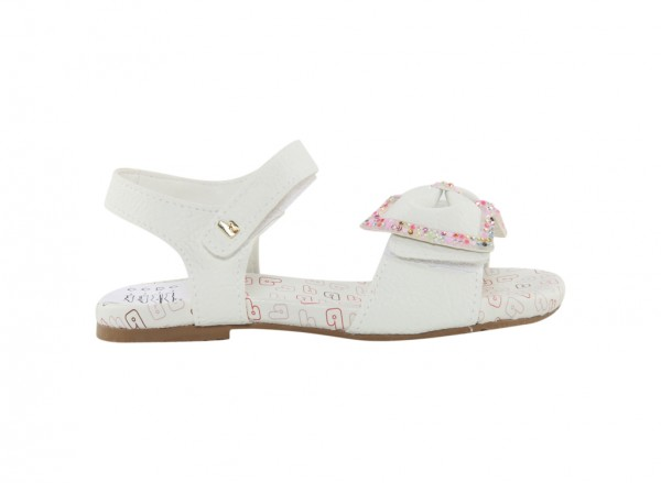 Baby Birk White Sandals