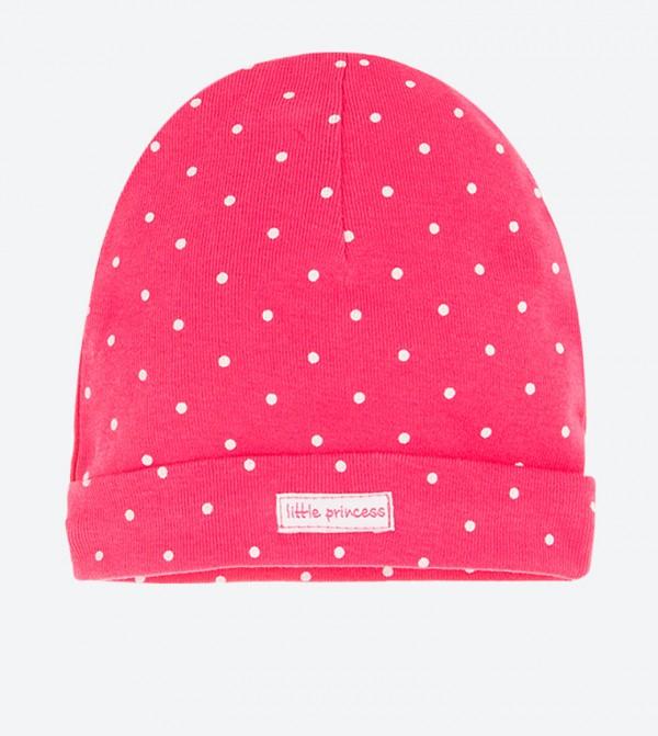 Dot Printed Bennies - Pink