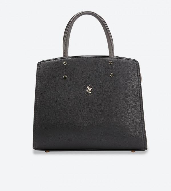 حقيبة يد إيف بلون أسود