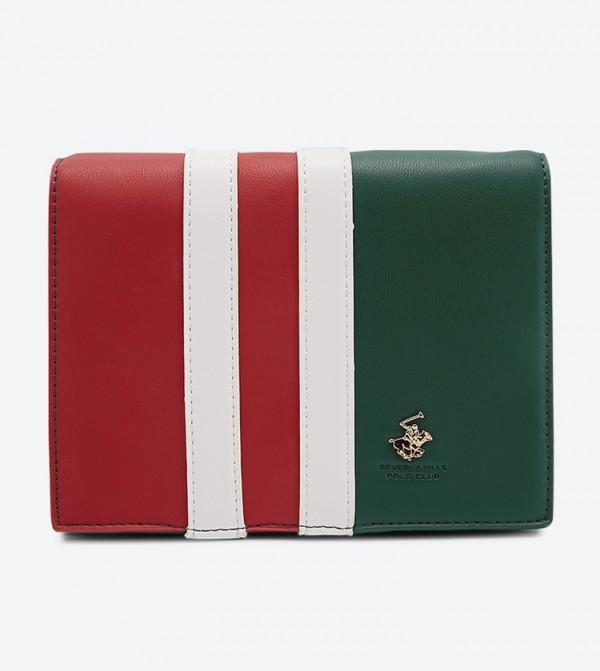 حقيبة بحمالة كتف طويلة لون أخضر