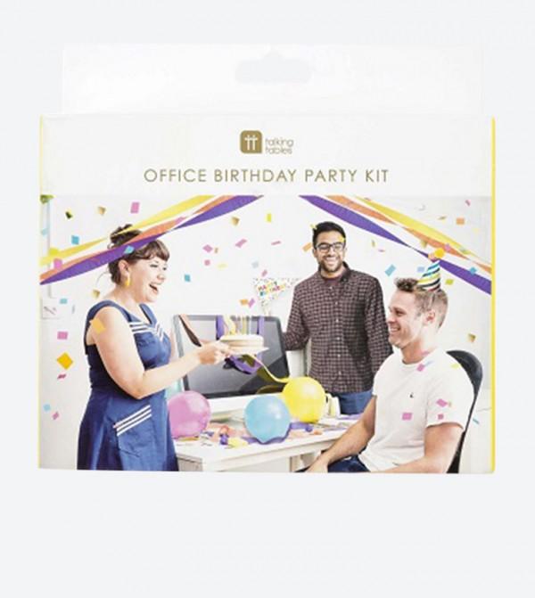 صندوق الحفلات للمكتب متعدد الألوان