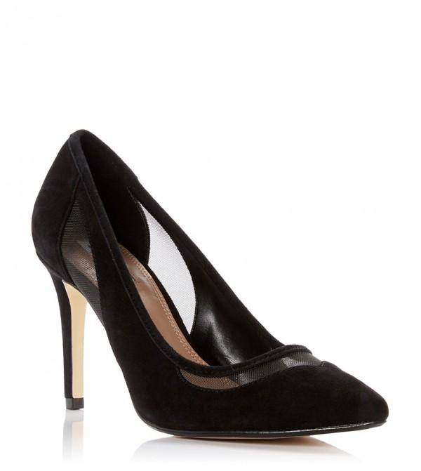حذاء بونتي بلون أسود