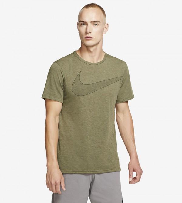 Logo Print T-shirt - Green