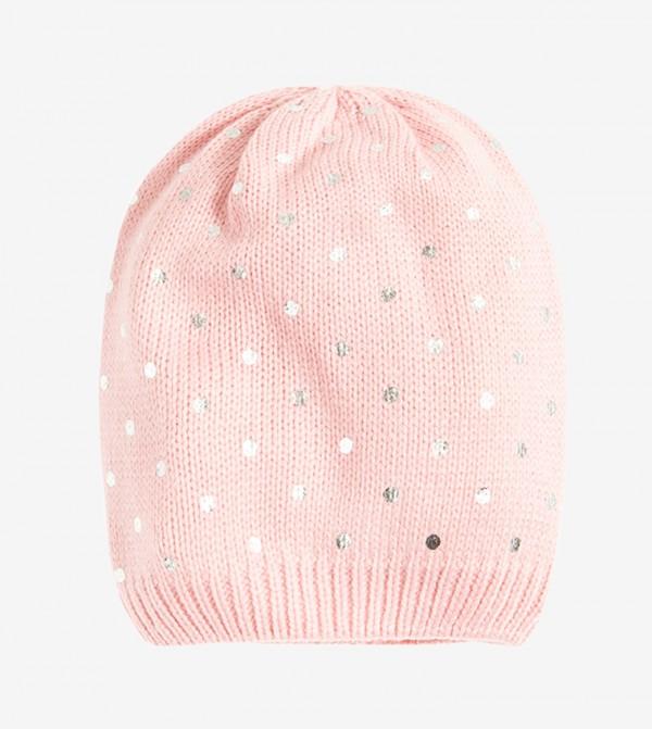 Printed Beanie - Pink