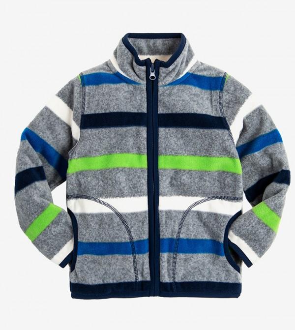 Long Sleeve Round Neck Sweater - Multi