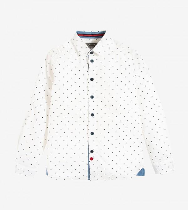 Long sleeve Classic Collar Shirt - Multi