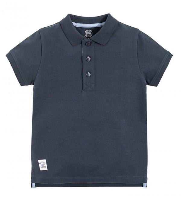 T-Shirt Polo S/S-Dark Blue