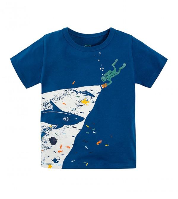 T-Shirt S/S-Navy Blue
