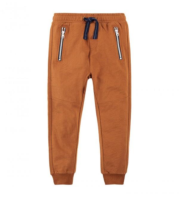Jogging Pants-Brown