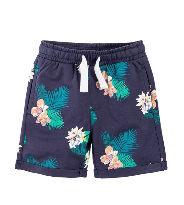 Shorts-Dark Blue