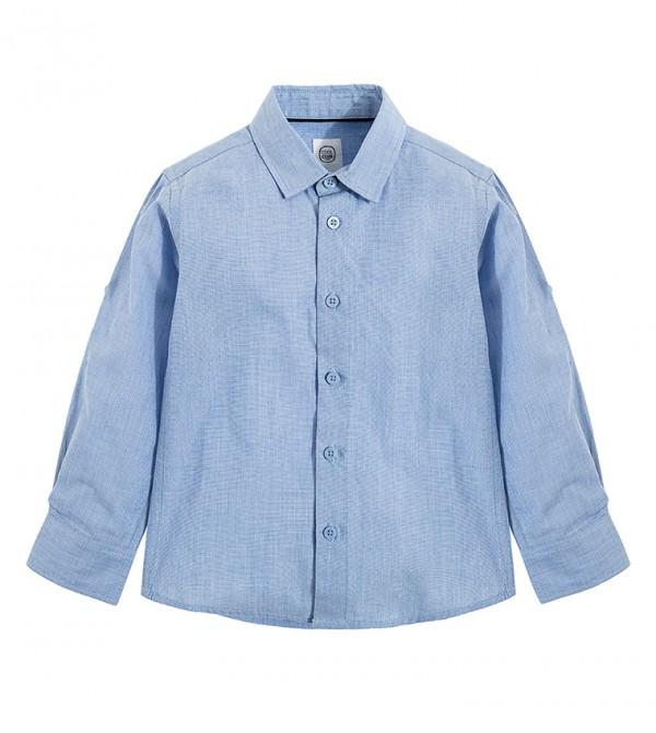 Shirt L/S-Blue