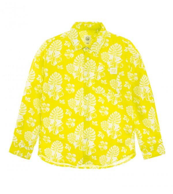 Shirt L/S-Yellow