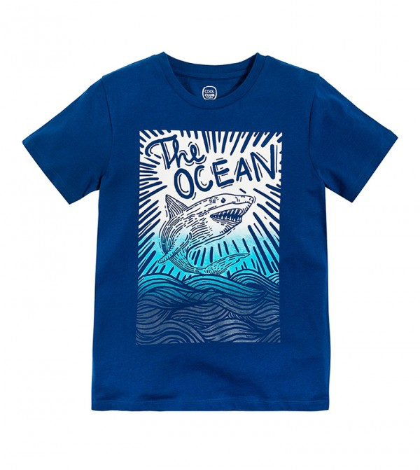 T-Shirt S/S-Dark Blue