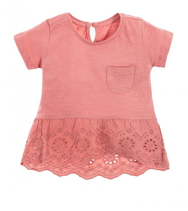 T-Shirt S/S-Light Pink