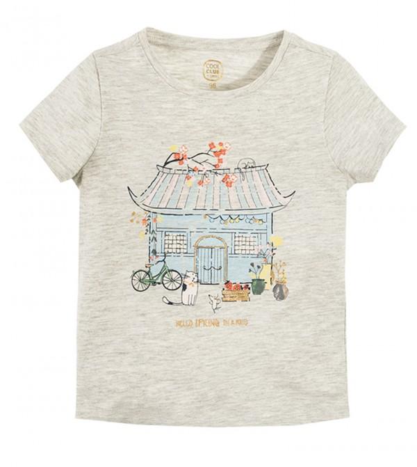 T-Shirt S/S-Grey Melange