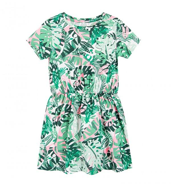 Dress S/S-Green