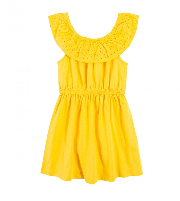Dress N/S-Yellow