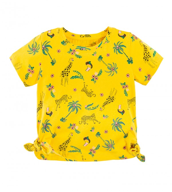 T-Shirt S/S-Yellow