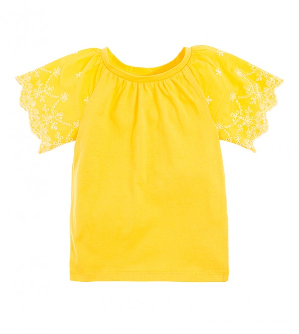 Blouse S/S-Yellow