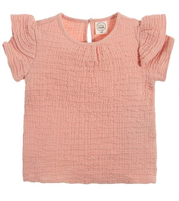 Blouse S/S-Light Pink