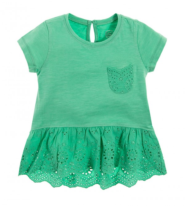 Blouse S/S-Green