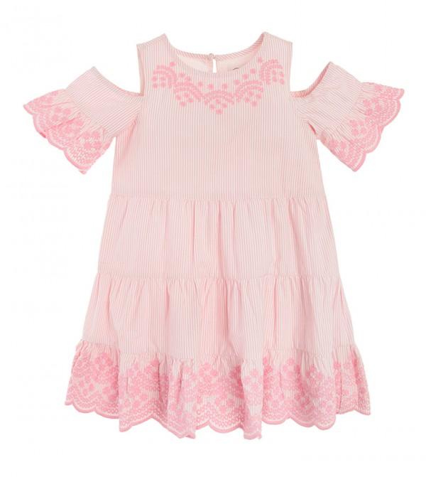 Dress L/S-Stripes