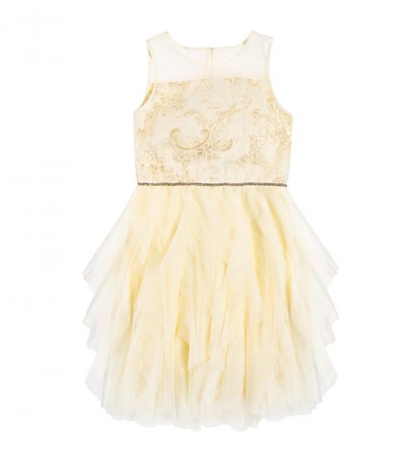Dress N/S-Creamy
